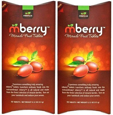 Tablet Miracle Fruit Berry Sweet Pack Candy Chewable new free shipp