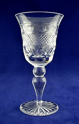 "Cumbria Crystal ""GRASMERE"" Wine Glass - 14.7cms (5-3/4"") tall"