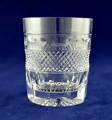 "Cumbria Crystal ""GRASMERE"" Whiskey Glass - 8.8cms (3-1/2"") tall"