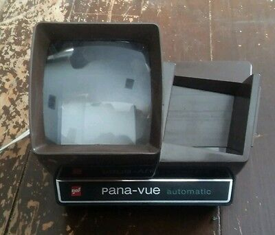 GAF PANA - VUE Automatic lighted 2x2 slide viewer