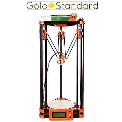 Kossel Delta 3D Printer - Hot Bed Auto Levelling PLA ABS Reprap Prusa i3 DIY