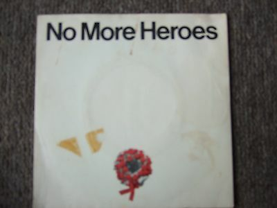 """The Stranglers - No More Heros/in The Shadows 7"""" Vinyl In Pic Sleeve"""