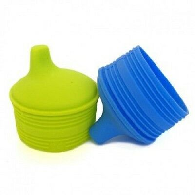 SiliKids by Siliskin Universal Silicone Sippy Cup Tops│2 Pack