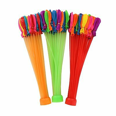 Pack of 111 Instant Fast Easy Fill Up Water Balloons Kit Outdoor Summer Toys