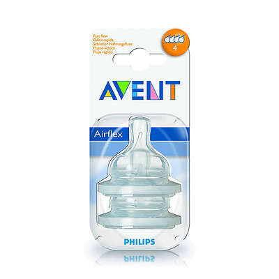 Phillips Avent Classic+ Baby Bottle Nipples │ 2 Pack