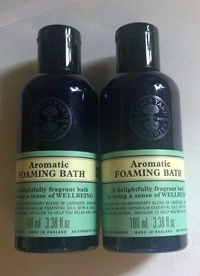 Neal's Yard Remedies Aromatic Foaming Bath 100ml x 2 BBE 01/18