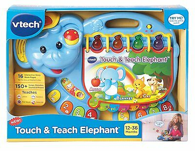 VTech Baby Touch and Teach Elephant