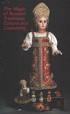 Antique Jumeau Russan Doll Traditional Costume Article&face Painting Tech.sheet
