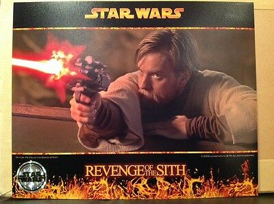 Star Wars Revenge Of The Sith - Official Pix Photograph Limited Edition EP3-07