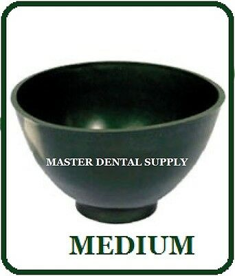 Dental Lab Mixing Bowl Flexible Alginate and Stone MEDIUM Dark Green Hygienist