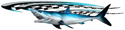 MAKO SHARK GRAPHIC/ TRUCK / BOAT/DECAL 1340mm X300mm