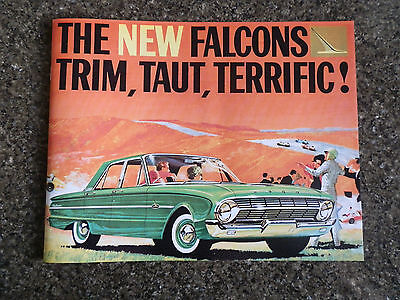 1962 Ford Falcon Xl Brochure 100% Guarantee