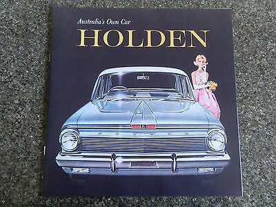 Holden 1962 Ej Sales Brochure    100% Guarantee
