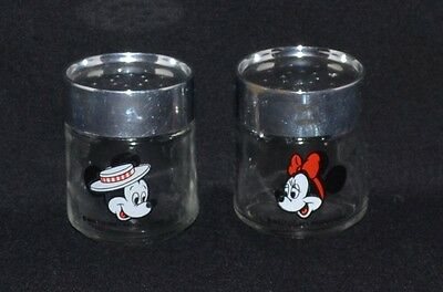 Vintage Salt & Pepper Shakers,mickey Mouse & Minnie Mouse