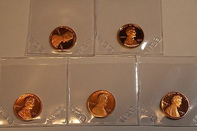 1982 S Proof Lincoln Memorial Cent Penny