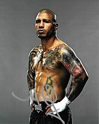 Boxing Champion Miguel Cotto Autographed 8x10 Photo (Reproduction)  1