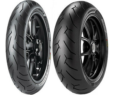110/70-17 54H PIRELLI DIABLO ROSSO II Front Motorcycle Tyre