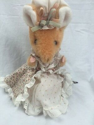 "Vintage Eden Beatrix Potter 11"" Plush Lady Mouse"