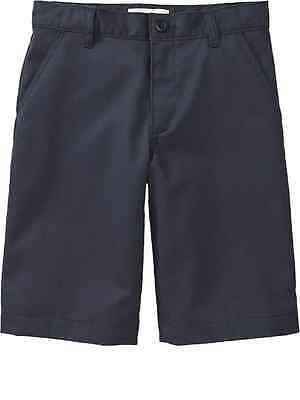 Boys OLD NAVY Uniform Shorts Classic Navy Blue 5 6 7 8 10 12 14 16 18 Husky Slim