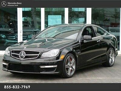 2014 Mercedes-Benz C-Class Base Coupe 2-Door C63 AMG COUPE, MB CERTIFIED PRE-OWNED, DRIVE ASST, MULTIMEDIA!!!!
