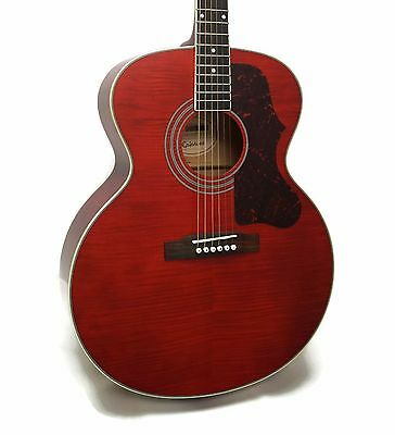 Epiphone EJ-200 Artist Limited Edition Jumbo Acoustic Guitar - Wine Red