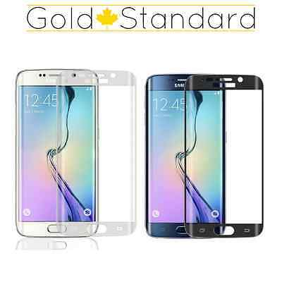 Samsung Galaxy S7 Edge FULL CURVED Premium TEMPERED GLASS Screen Protector 9H