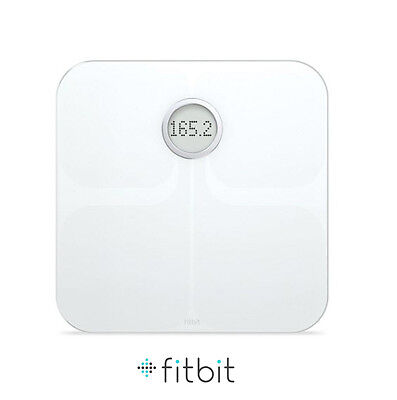 Fitbit Smart Digital Weighing Scales White Brand New in Box, Automatic Wi-fi Bmi