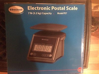 Salter Brecknell Electronic Postal Scale PS7 New Unused NIB Excellent Condition