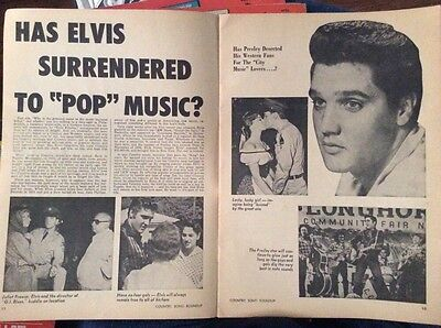 Country Song Roundup July 1961 Elvis Presley
