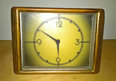 Vintage Art Deco Wind-up Clock