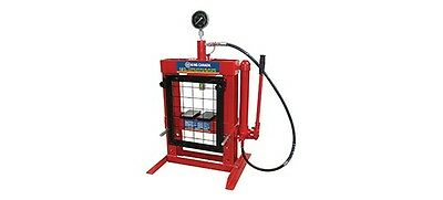 King Canada Tools KHP-10T-GG 10 TON HYDRAULIC SHOP PRESS WITH GRID GUARD