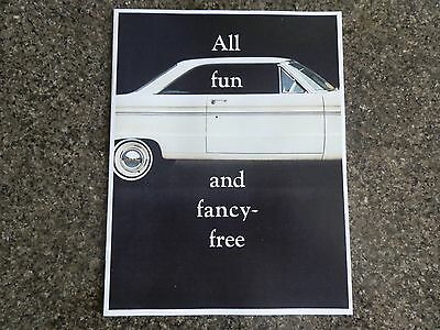 1964 Xm Ford Falcon Hardtop Sales Brochure 100% Guarantee