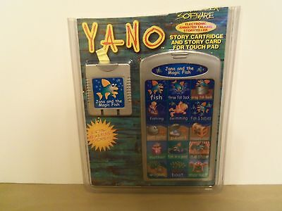 YANO Interactive Storyteller Software Cartridge JANA AND THE MAGIC FISH & Card