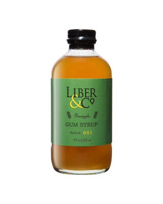 Liber & Co Pineapple Gum Syrup 251ml