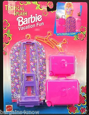 Tropical Splash Barbie Vacation Fun NRFP