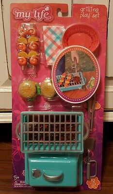 """My Life As Grilling Play Set 18"""" Dolls American Girl Our Generation"""