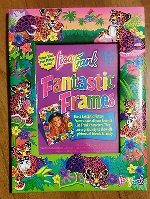 Lisa Frank Hunter Leopard Picture Frame