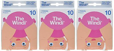The Windi Gas and Colic Reliever for Babies - 3 Pack (30 Count) FridaBaby