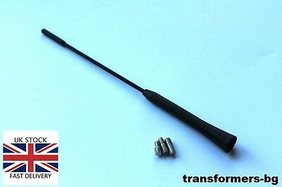 Bmw Mini Cooper Black Rubber Genuine Replacement Am/fm Aerial Antenna Roof Mast