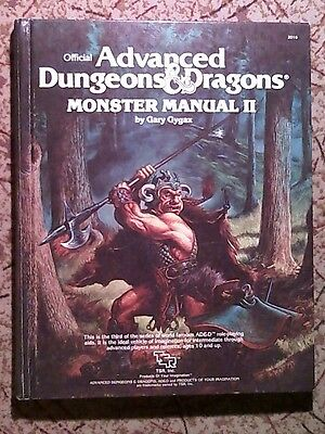 Advanced Dungeon and Dragons Monster Manual 1983