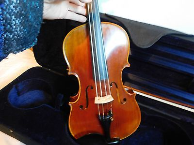 """Master Series 16"""" Viola Labeled Sandner Germany Outfit - With Case and Bow"""