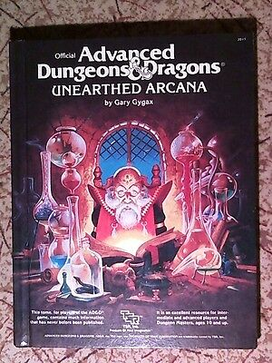 Advanced Dungeons and Dragons Unearthed Arcana1985