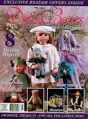 Australian Dolls, Bears & Collectables Magazine Vol 18  No 2. 2011.