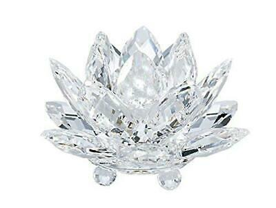 Swarovski Crystal Waterlily Clear Candleholder (Small) 5084103