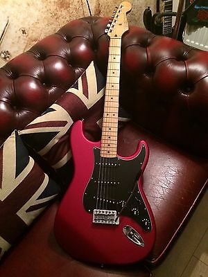 Fender FSR Special Edition Standard Stratocaster In Satin Red