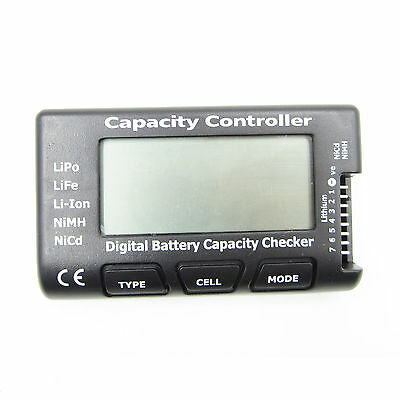 LiPo Tester V2 Batterie Battery Balancer Capacity Checker 1s-7s Li-Ion NiMH Nicd