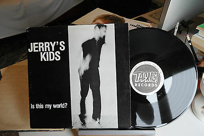 """Jerry's Kids - Is This My World?  - Vinile Lp 33 Giri - 12"""""""