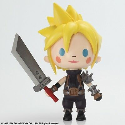 *NEW* Final Fantasy: #01 Cloud Strife FF VII Static Arts Mini Figure Square Enix