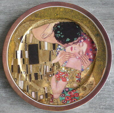 Goebel Collector's, Big Plate The Kiss By Gustav Klimt, Limited Edition