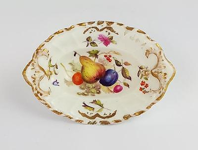 19th Century PORCELAIN Hand Decorated PIN DISH
